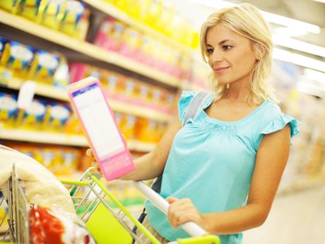 Healthy Shopping List Tips 460x345