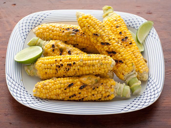 Jalapeno-Lime Corn on The Cob