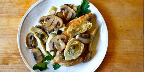 Home » Healthy Recipes » Chicken Piccata Recipe
