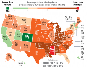 Obese states