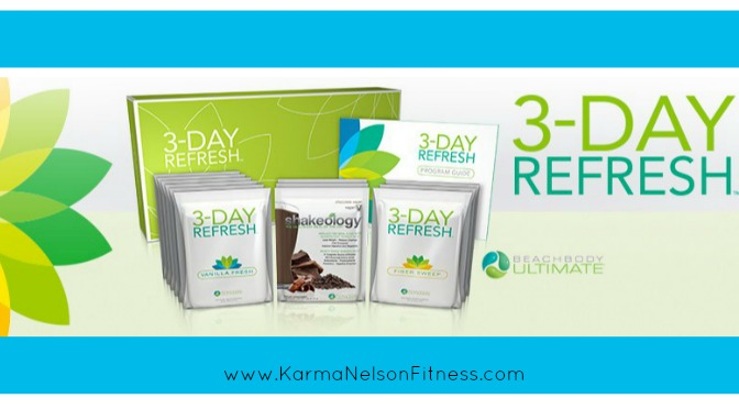3 day refresh cleanse