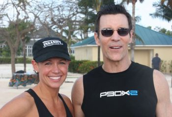I was a cast member with Tony Horton on stage in the Bahamas!