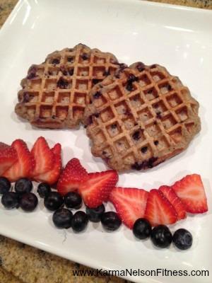 Protein Power Waffles - Karma Nelson Fitness