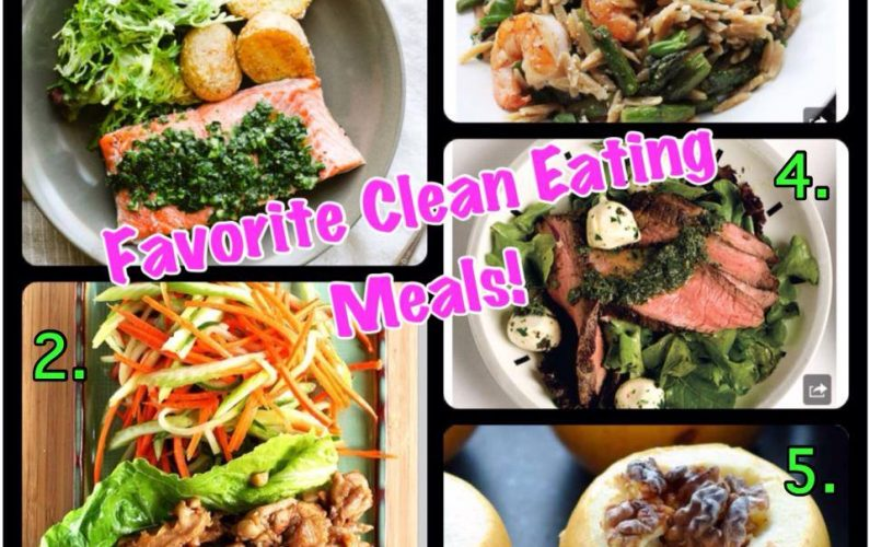 favorite clean eating meals