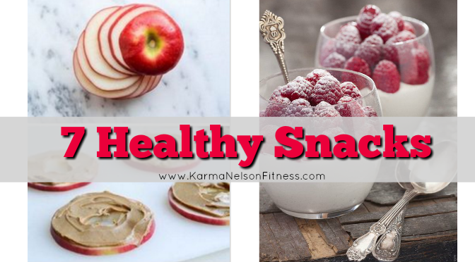 7 healthy snacks