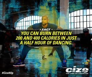 Calorie Burn Cize