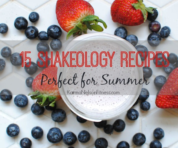 15ShakeologyRecipes