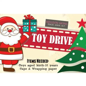 toy drive mission moms
