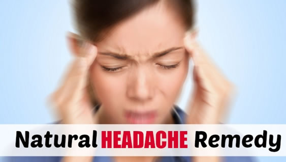 5 Easy and NATURAL Ways to Get Rid of Headaches