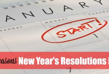 5 Reasons New Year's Resolutions Fail