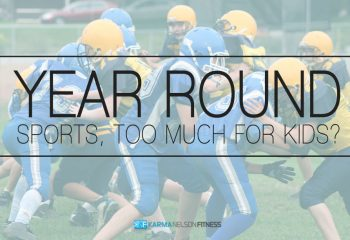 Is playing sports year-round too much for kids