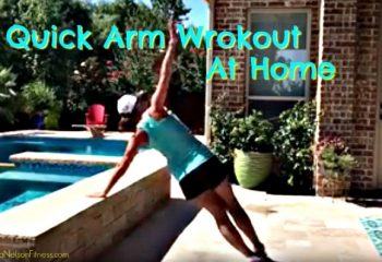 Quick Arm Workout At Home