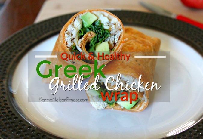 GreekChickenWrap
