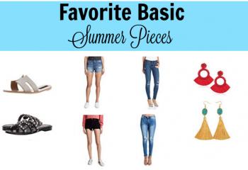 favorite basics summer pieces