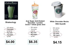 comparison w starbucks